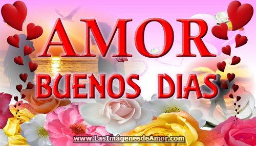 Imagenes de Buenos dias Amor linda