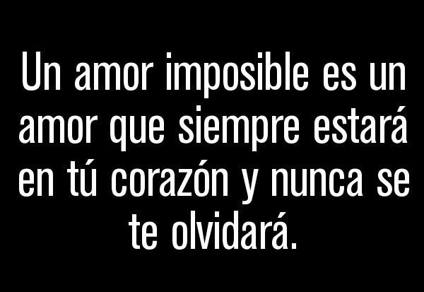 Imagenes de un Amor Imposible
