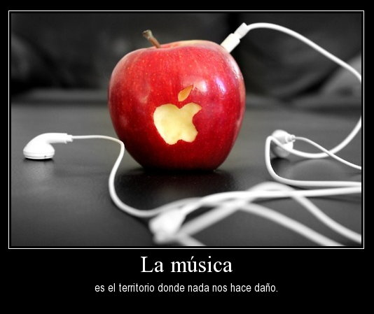 imagen de amor a la musica