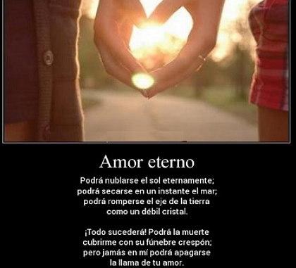 amor eterno frases
