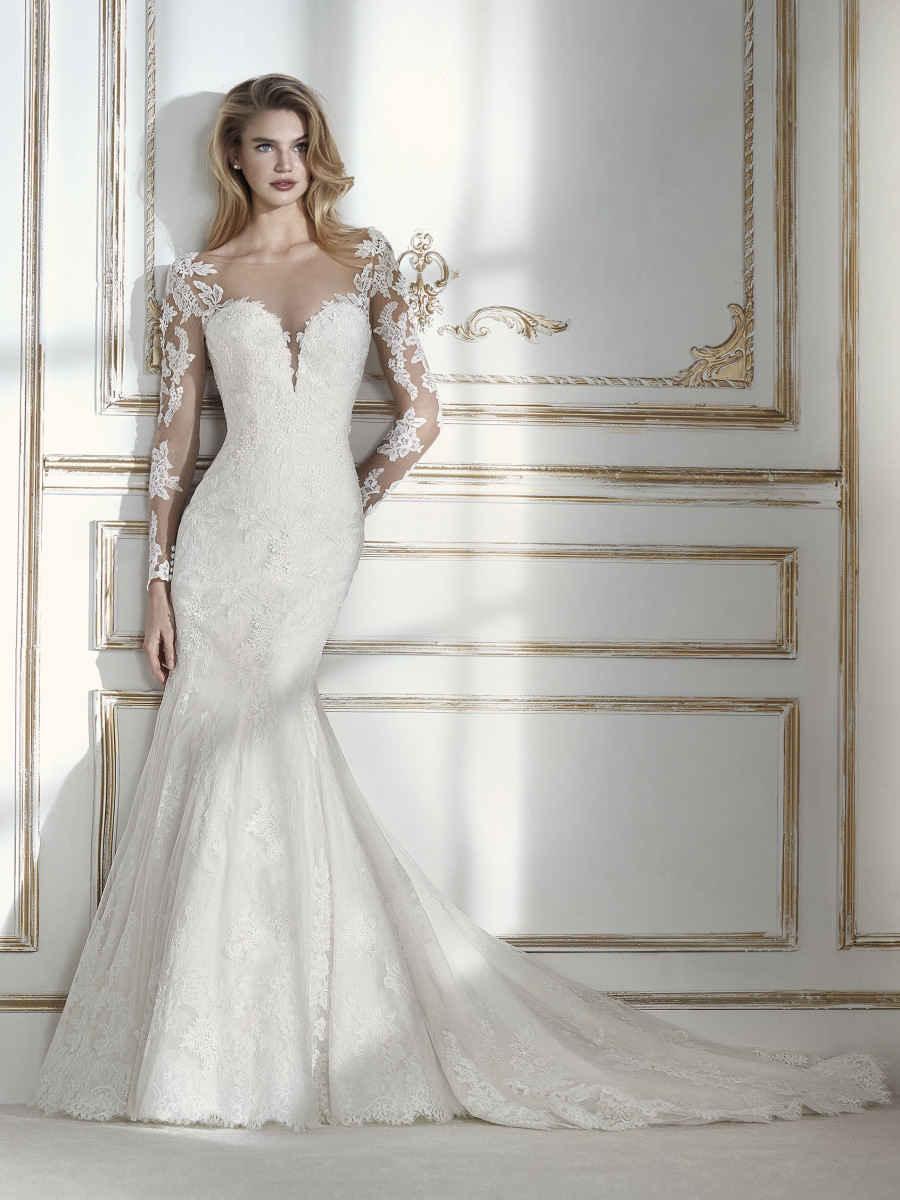 Imagen vestidos para bodas pegado al cuerpo