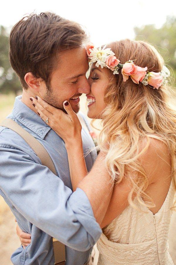 Enamorados besandose imagen