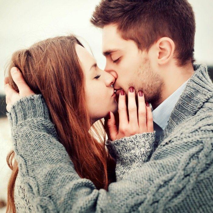 Imagen esposo besándose