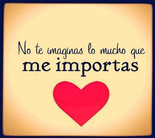Tu eres muy especial para mi con una corazon