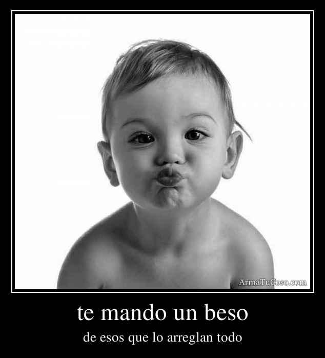Imagenes de te mando un beso