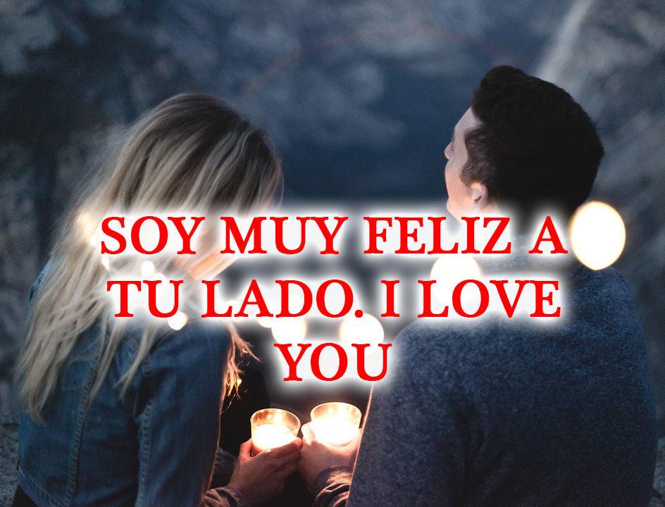 Soy feliz a tu lado imagen de amor