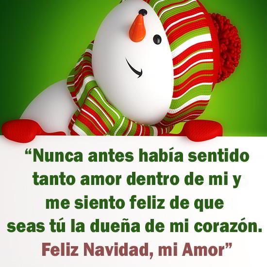 Mensaje de amor para navidad